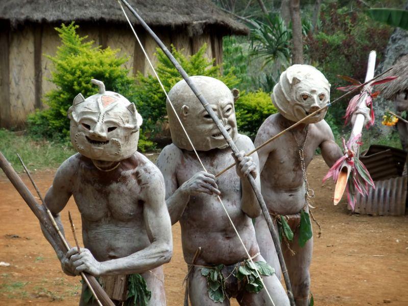 Papua New Guinea P29NK Tourist attractions