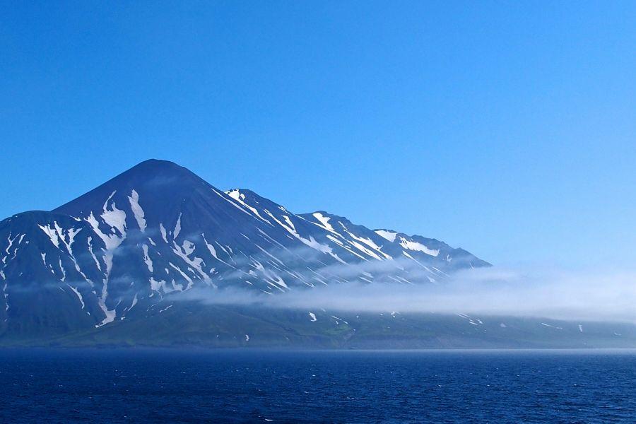 Paramushir Island Kuril Islands RA1ALA/0 Mt.Chikurachiki.