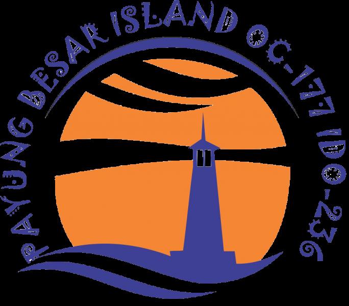 Payung Besar Island YF1AR/0 Logo