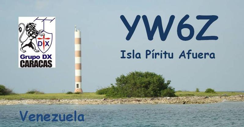 Piritu Afuera Island YW6Z IOTA DX Pedition