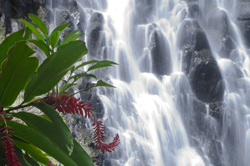 Pohnpei Islands V63FG Kepirohi Waterfall.