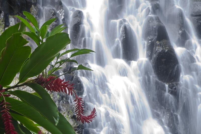 Pohnpei Islands V63FG Kepirohi Waterfall.