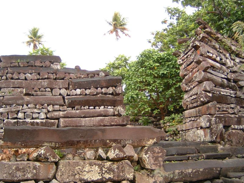 Pohnpei Island V63IM Tourist attractions spot Nan Madol.