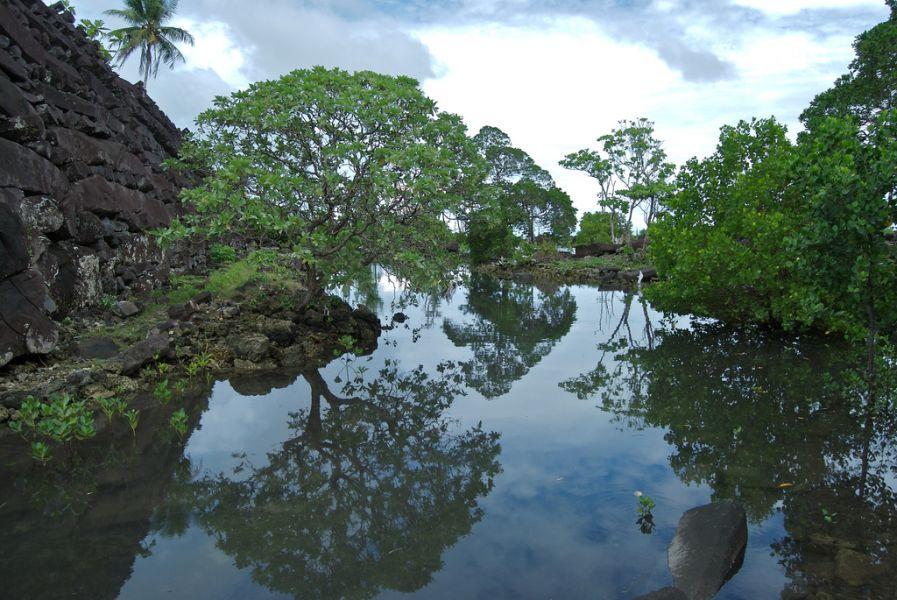 Pohnpei Islands Micronesia V63YY Nan Madol.