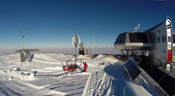 Princess Elisabeth Station Antarctica OP0LE