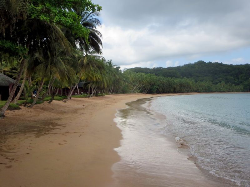 Остров Принсипи S9BK Прая де Коко.