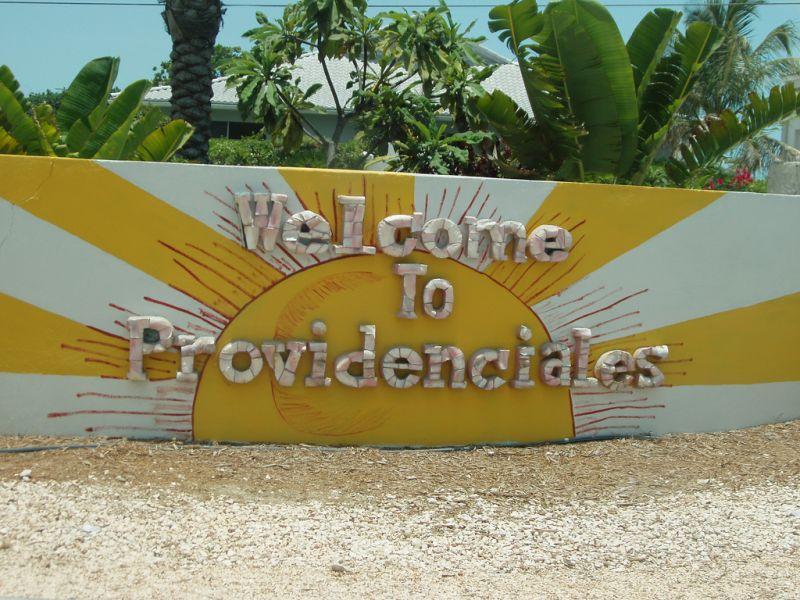 Остров Провиденсиалес Теркс и Кайкос VQ5E Туристические достопримечательности Добро пожаловать.