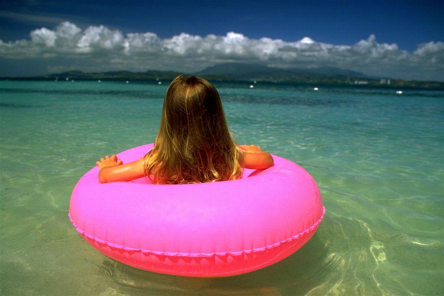 Puerto Rico WP4X Tourist attractions spot Palomino Island.