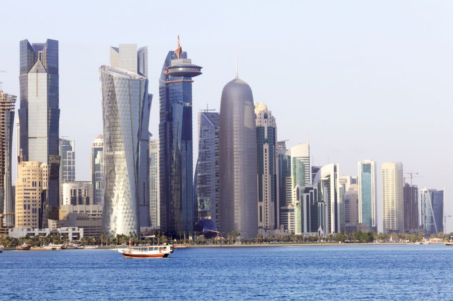 Qatar A73A Tourist attractions spot