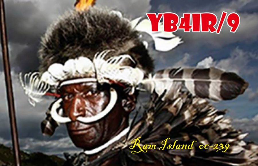 Остров Рам YB4IR/9 Западное Папуа