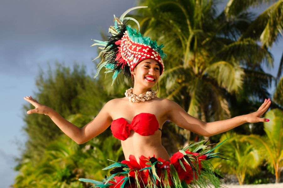 Rarotonga Island Cook Islands E51AAR Tourist attractions spot