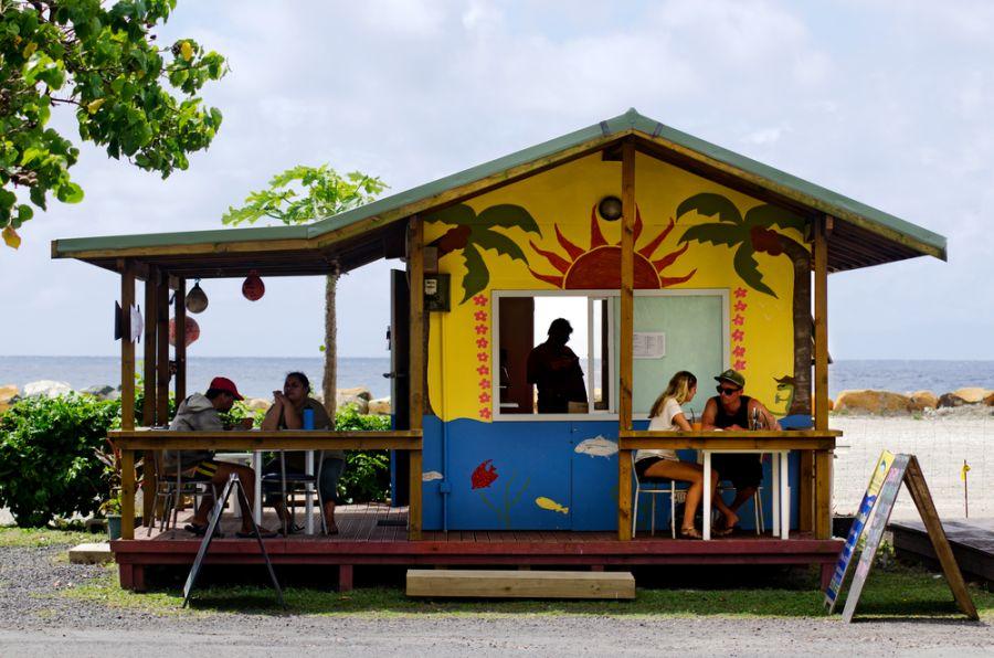 Остров Раротонга Острова Кука E51EAQ Туристические достопримечательности