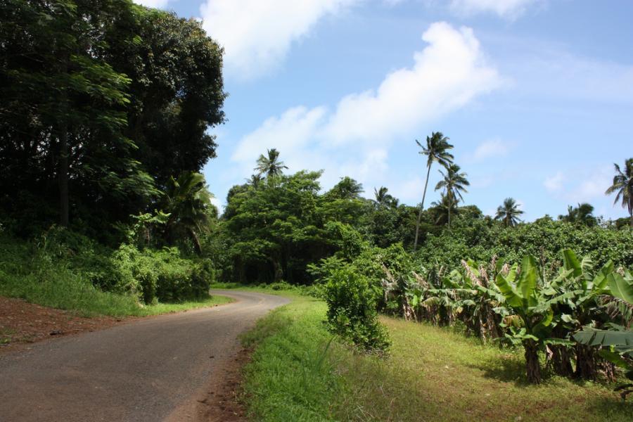 Rarotonga Island E51KTA Tourist attractions spot
