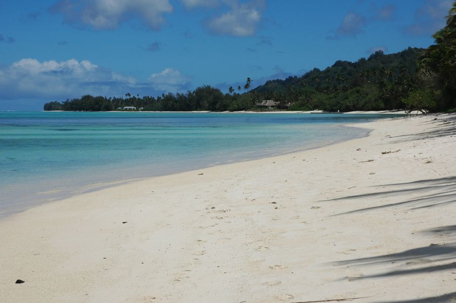 Rarotonga Island Cook Islands E51RR