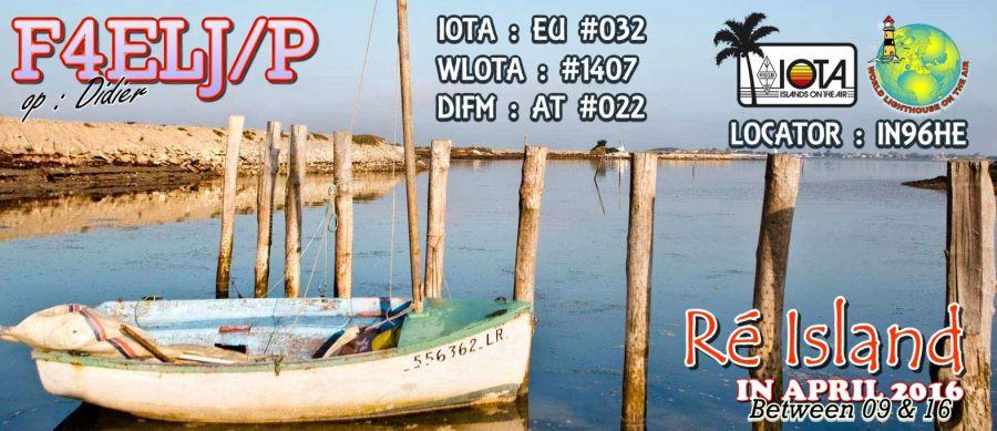 Re Island F4ELJ/P QSL
