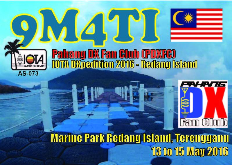 Redang Island 9M4TI