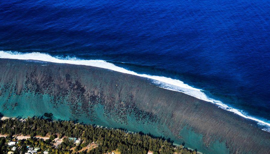 Reunion Island FR/OH2YL Tourist attractions spot Lagon Run