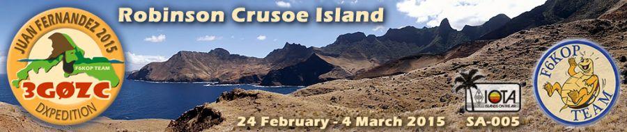 Robinson Crusoe Island Juan Fernandez Archipelago 3G0ZC Logo