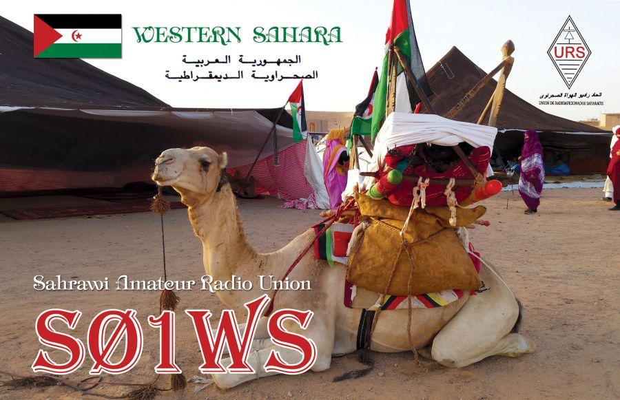 Республика Сахрави S01WS QSL