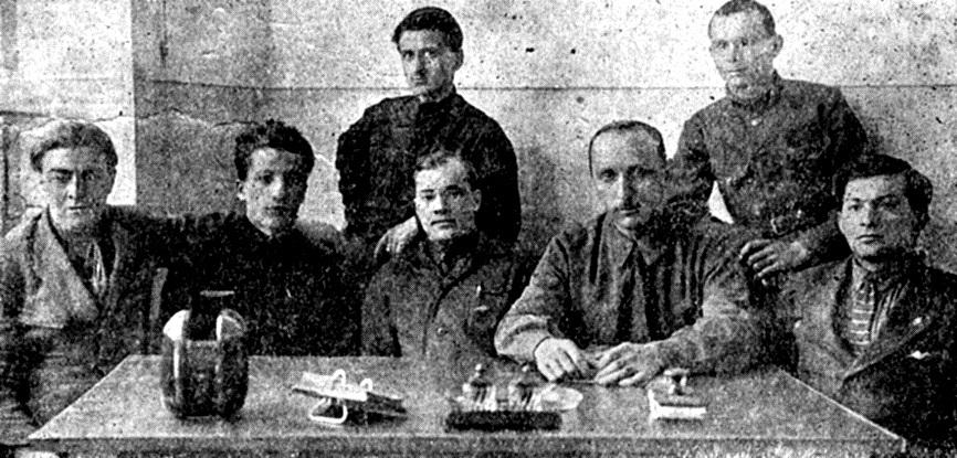 Грузия Заседание секции СКВ 1929 год