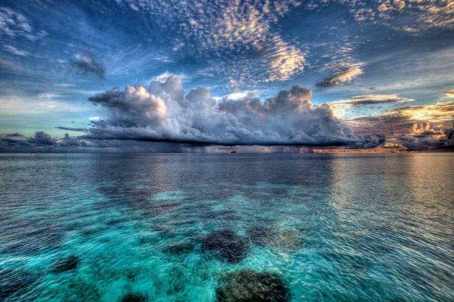 Остров Сафари (Мушимасгали), Мушимас Мигили риф, Алиф Алиф атолл, Мальдивские острова.  8Q7HW Туристические достопримечательности.