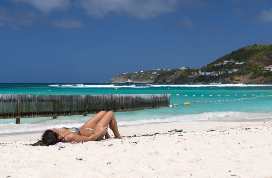 Остров Сен Бартелеми TO2EE DX Новости Пляж Сен Барт