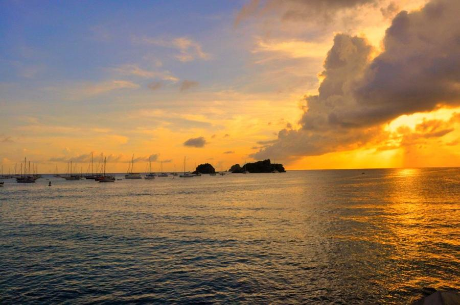 Saint Barthelemy Island FJ/KO8SCA Sunset