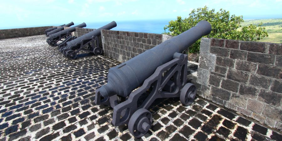 Saint Kitts Island V47DG DX News Brimstone Hill Fortress.