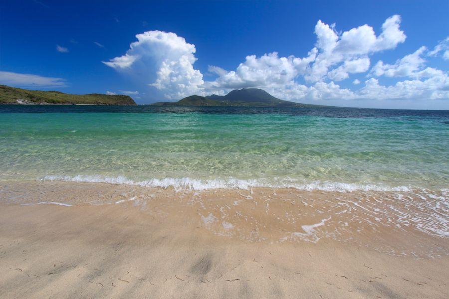 Saint Kitts Island V47DG Beautiful beach