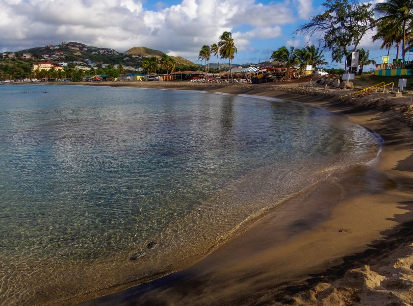 Остров Сент Китс V47KA Карибское утро.