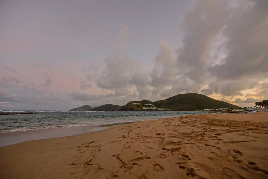 Saint Kitts Island V47TO Beach