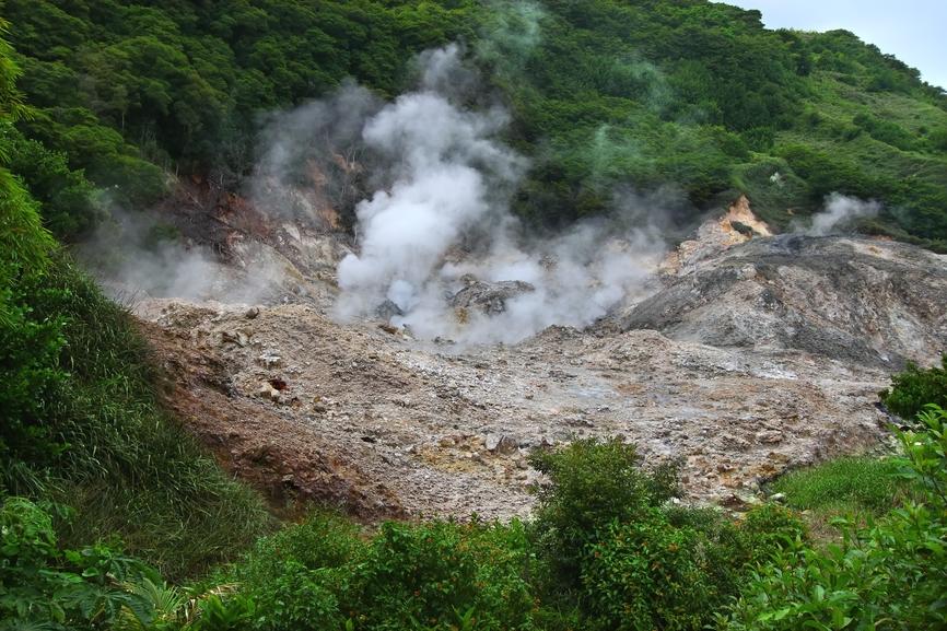 Saint Lucia Island J6/DL7VOG Sulphur Springs - Saint Lucia