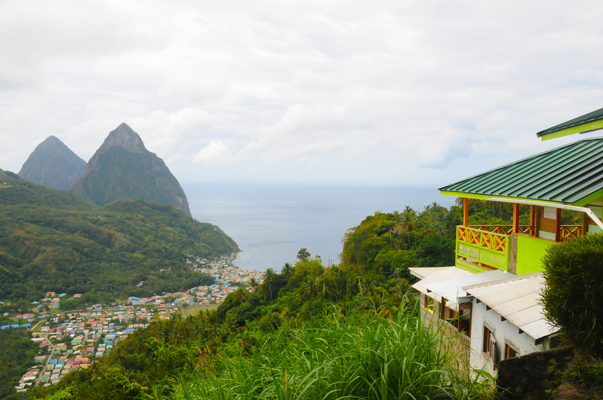 Saint Lucia Island J6/F9IE Tourist attractions