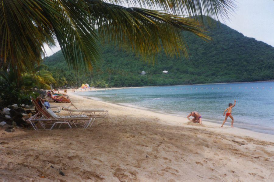 Saint Lucia Island J68OC J68KF J68MT J68ABM J6/AK5SD Beach.