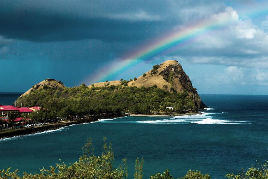 Saint Lucia Island J68SL J6/WB2YQH Tourist attractions spot