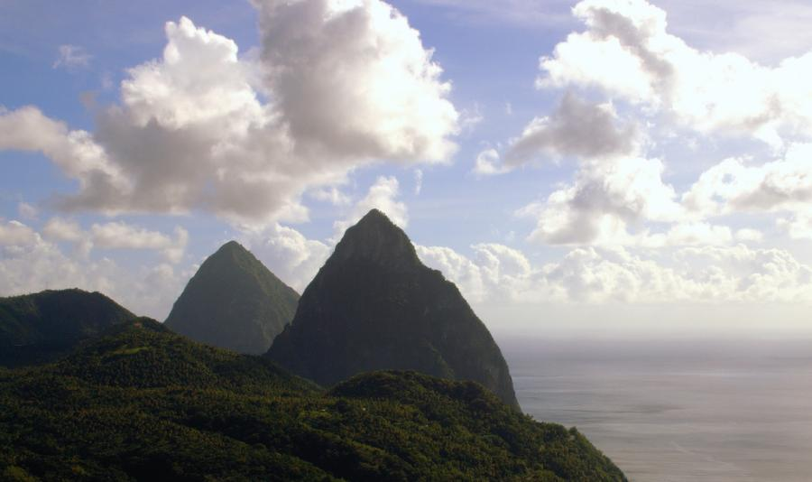 Saint Lucia Island J68SL J6/WB2YQH Pitons