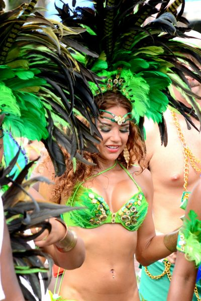 Saint Lucia Island J6/NY3B Tourist attractions spot Carnival