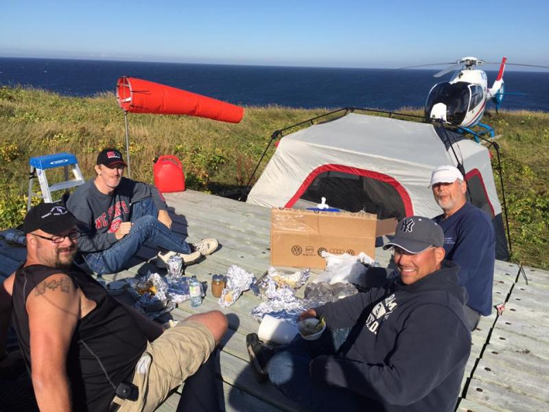 Saint Paul Island CY9C DX Pedition Team North