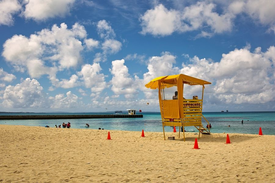 Saipan Island KH0/JH1MLO Tourist attractions spot