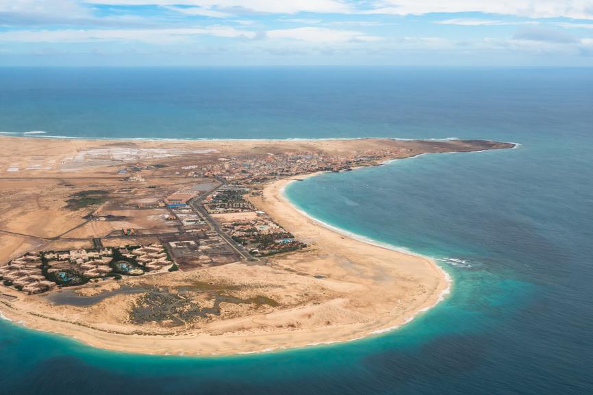 Sal Island Santa Maria D44TDK Cabo Verde Cape Verde Tourist attractions