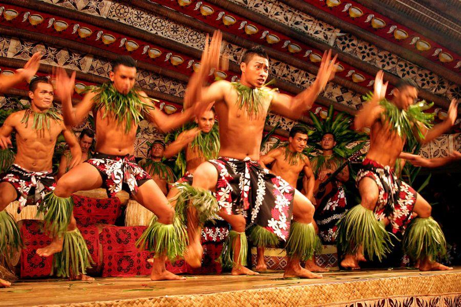 Samoa 5W0COW Dance.