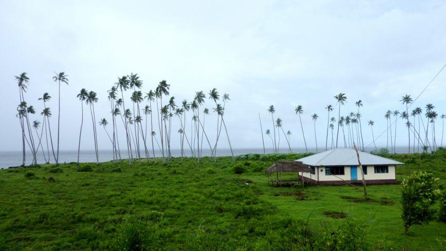 Самоа 5W0RR Туристические достопримечательности Остров Сави.