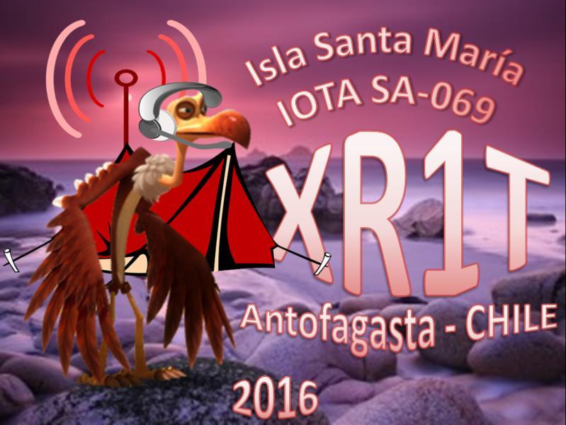 Santa Maria Island XR1T Logo
