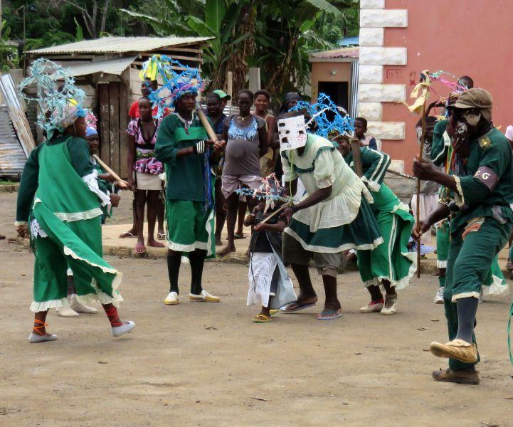 Сан Томе и Принсипи S9YY Туристические достопримечательности Традиционный танец Пантуфо.