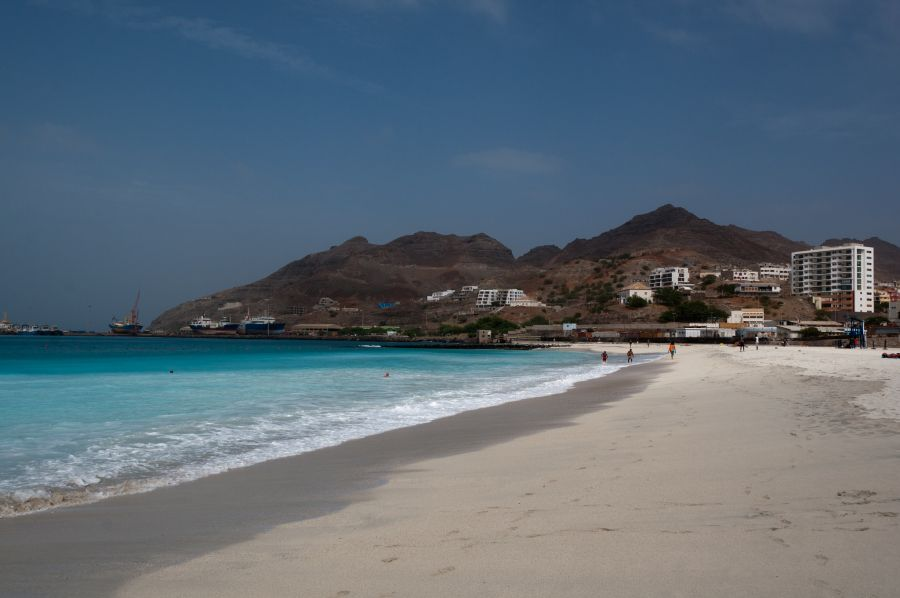 Остров Сан Висенти Кабо Верде Острова Зеленого Мыса D4Z Туристические достопримечательности Пляж