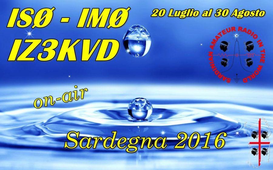 Sardinia Island IS0/IZ3KVD IM0/IZ3KVD