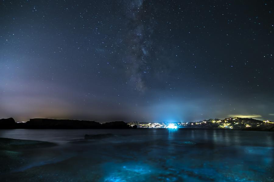 Сардиния IS0/SQ9UM Звездное небо Фото