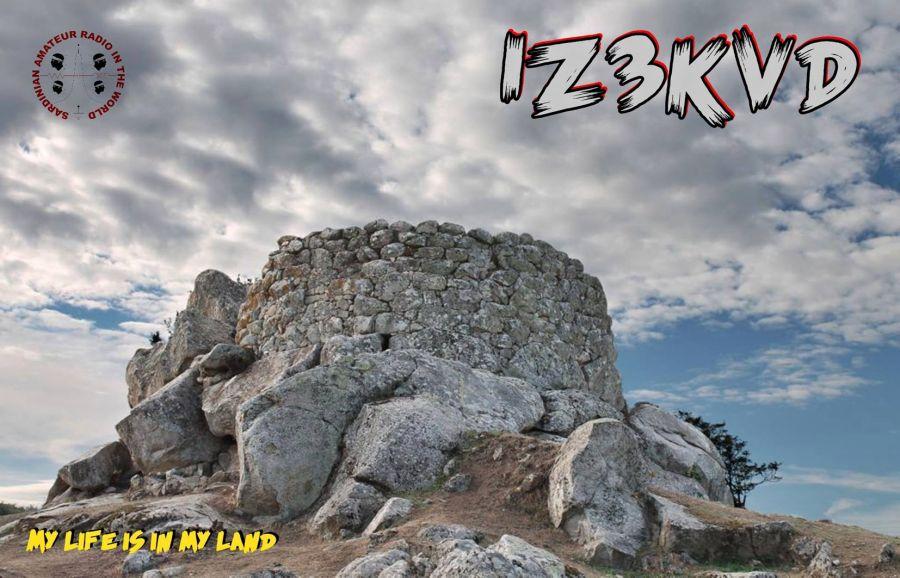 Сардиния IZ3KVD QSL