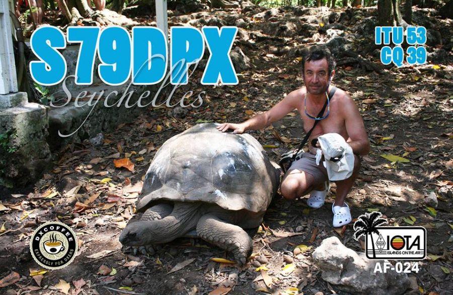 Сейшельские острова S79DPX QSL