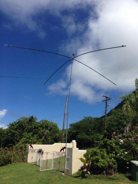 Sint Eustatius Island PJ5/OL8R Antenna